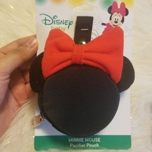 New Disney Baby Girl Minnie Mouse Set Pacifier
